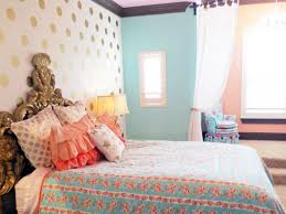 Coral Color Decorating Ideas by Coral And Gold Bedroom Stick Leg Varnished Wooden Floor Lamp