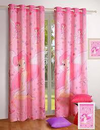 Fabrics For Curtains India by Amazon Com Blackout Poly Satin Fabric Fairy Door Curtains Set