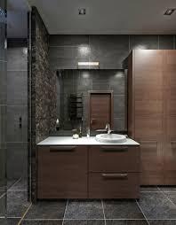 design badezimmer im modernen stil mit dusche und badewanne