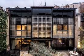 100 Glass Walled Houses Dramatic 21mmodernist Home Hidden In A London Mews Is