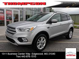 Used 2018 Ford Escape For Sale | Baltimore MD 2017 Ford Escape Leo Johns Car Truck Sales 2018 Ford Exterior Concept Of Lease Ford Xlt Wise Auto Center Inc Used Honduras 2010 4 Cilindros 2013 First Drive Trend 4wd 4dr Se Spadoni Amp New Titanium Nav Sync Connect For Sale In For Updates Leo Johns Car And Truck Small Vs Suv Fresh Square F Honda Sel Buda Tx Austin Tx City