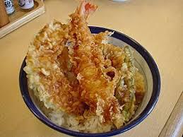 cuisine japonaise tendon cuisine japonaise wikipédia