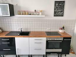 ikea küche faktum metod kallrör hochglanz weiß schwarz