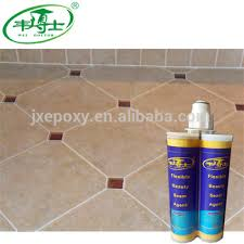 low price ceramic tile sealant epoxy resin glue two components