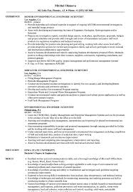 Related Job Titles Environmental Health Safety Engineer Resume Sample Manager