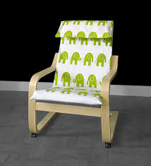 Ikea Poang Chair Cover Green by Green Elephant Kids Ikea Poang Chair Cover
