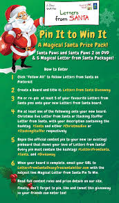 Easy Free Letter from Santa Magical Package