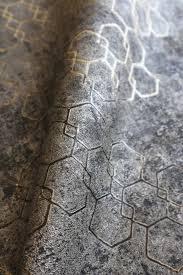 newroom vliestapete schwarz tapete leicht glänzend modern mustertapete metalic gold grau hexagon grafisch für schlafzimmer wohnzimmer küche