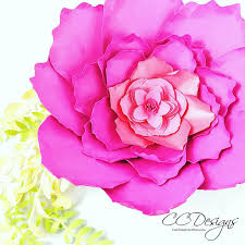 Giant Paper Peony Templates Tutorial Flower Patterns Party