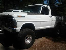 100 Ford Truck 4x4 1972 F100 Short Bed