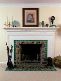 pewabic pottery fireplace grosse pointe mi tiles pinterest
