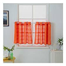 orange scheibengardinen und weitere gardinen vorhänge