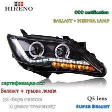 hireno headl for 2012 2013 toyota camry headlight assembly led