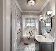 Pottery Barn Bathroom Lighting by Polished Nickel Mirror Bathroom Traditional With Bath Accessories