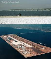 Kansai Airport Japan Sinking by Kansai International Airport
