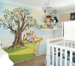 Winnie The Pooh Nursery Themes by 18 Best Winnie The Pooh Mural Images On Pinterest Nursery Ideas
