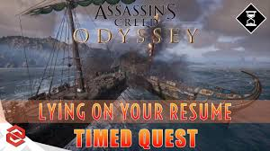 Assassin's Creed Odyssey Timed Quest: Lying On Your Resume [PS4 Pro] Lying On Your Resume Consider This Advice Before What Happens When You Lie Palmer Group Luxury On Atclgrain Aassins Creed Odyssey Timed Quest Ps4 Pro 7 Ways To Make Stronger Cv Simply Medium 4 Hazards Of Telecommute And Remote Jobs Linkedins New Quizzes Can Prove Youre Not Lying Your Dont Get Caught Linkedin Profile Eagle Staffing Why Shouldnt Resumeand How Many Do Anyway The Growing Menace Rumes Lies Its Impact Hiring Need Help Getting A Job Read