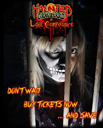 Lake Compounce Halloween 2015 by Six Flags New England Fright Fest Review Haunted Graveyard At The