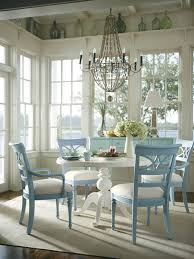 Shabby Chic Dining Room Wall Decor by Shabby Chic Dining Table Teal White Metal Finish Dining Chair Base