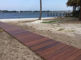 Ipe Deck Tiles Canada by Ipe Boardwalk In Lantana Docks U0026 Piers Pinterest Hardwood