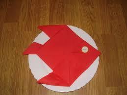 pliage de serviette porte couvert great bicolore with pliage de