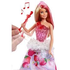Barbie Dreamtopia Color Stylin Princess Doll Pink