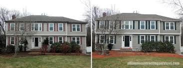 Shed North Andover Ma by James Hardie Siding Contractor All In One Contracting Services