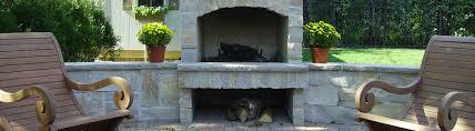 Wilmette Outdoor Fireplaces