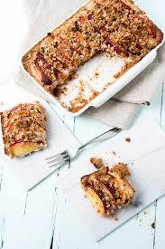 pfirsich quarkkuchen mit streusel foodelements