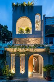 104 Architecture Of House Ad9 Architects Adds Small Arches To Old Vietnamese To Create Light Filled Interiors