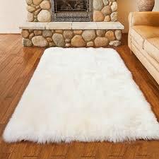 tapis de chambre blanc en peluche tapis chambre salon tapis enfants crawing tapis