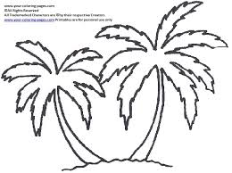 Best Palm Tree Coloring Page 50 In Print With