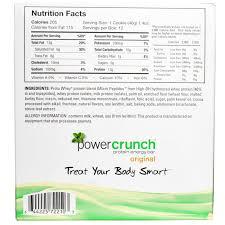 BNRG Power Crunch Protein Energy Bar Original Chocolate Mint
