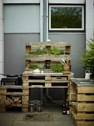 outdoor küche aus paletten selber bauen küche aus paletten