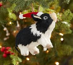 Sisal Pig Ornament