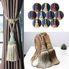 1pc quaste vorhang zugband dekoration vorhang halter
