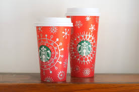 Doodling On Holiday Starbucks Cups
