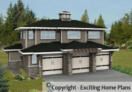 Images Front Views Of Houses by Modern House Garage Cottage Blueprints By Exciting Home Plans