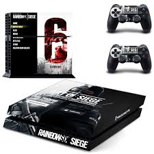 siege sony rainbow six siege ps4 skin sticker decal cover for sony ps4
