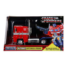 100 Optimus Prime Truck Model New G1 Autobot Red With Robot On Chassis From