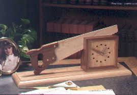 cutting time in half shelf clock woodworking plan from wood magazine