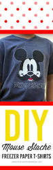 Mickey Mouse Halloween Stencil by Freezer Paper Stenciled Mickey Shirt
