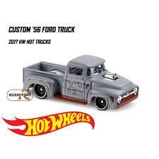 100 Ford Toy Trucks Hotwheels Custom 56 Truck C572 Shopee Indonesia