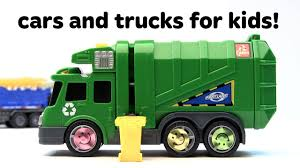 Toy Cars For Kids! Monster Trucks, Race Cars, And Dump Truck Toys ...