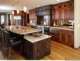 Berenson Hardware With Rustic Alder Cabinets And Decorative