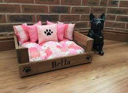 Bedroom Girly Dog Beds Sophisticated Dark Purple Furniture Cutton