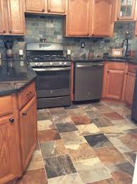 kitchen porcelain slate tile kitchen appliances counters