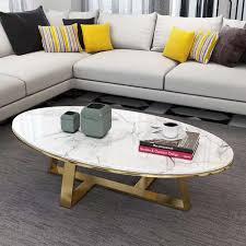 nordic marmor kaffee tisch moderne minimalistischen kleine wohnzimmer kaffee tisch oval form modell raum einfache kaffee tisch