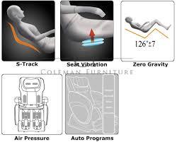 Cozzia Massage Chair 16027 by Black Zero Gravity Massage Chair From Cozzia 16028 3500