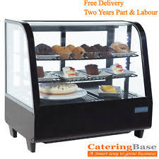 Countertop Display Fridge Food Beverage Sandwich Cake Drink Bar Chiller